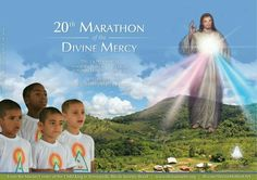 Dear brothers and sisters in Christ,   It is time again for the monthly Marathon of the Divine Mercy. Come pray the Chaplet and listen to messages of Christ transmitted to the visionary monks of the Grace Mercy Order at Marian Center of the Child King, near Rio, Brazil. Kindly spread the word!  There will be 2 webcasts each day:  >>> Opening and prayer of the first 150 beads of the Chaplet; 8:00 h Rio; 6:00 am New York; 11:00 h London  >>> Prayer of the last 150 beads and transmittal of a…