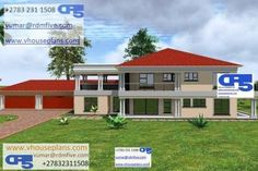 Bedroom Floor Plans, House Floor Plans, Dream Homes, My Dream Home, Double Storey House Plans, Site Plans, Bedroom House Plans, Garage Plans, Home Collections