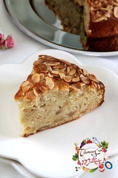 bademli elmalı kek1