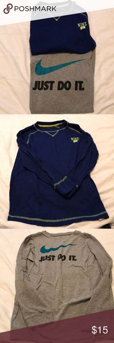 fd0405c50e7c BUNDLE OF TWO NIKE LONG SLEEVES SHIRTS Beautiful shirt in excellent  condition