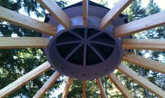 Portable Wooden Yurts: A great option for a guest room, art studio, or sturdy down-to-earth living.   Please visit our website at www.turtlebacknomadics.com