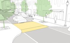 Speed Tables explained and illustrated in the NACTO Urban Street Design Guide. Click image for details & visit our popular Streets for Everyone board >> http://www.pinterest.com/slowottawa/streets-for-everyone/
