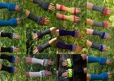 Dragon Scale Gloves Fingerless Crochet MADE TO ORDER Armwarmers, Crocodile Stitch Gloves, Cuffs, Arm Warmers, Mermaid Scales