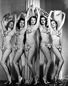 1930's Showgirls