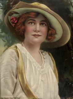 Ann Murdock-Theater Magazine Cover Portrait, 1914