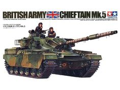 Model Tamiya 35068 British tank Chieftain Mk.5