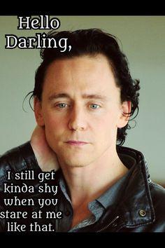 tom hiddleston hello darling   Tom Hiddleston: Hello Darling... • Nervous.
