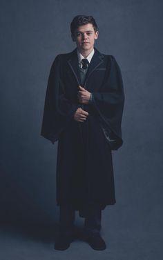 Sam Clemmett in costume as Albus Potter                                                                                                                                                                                 More