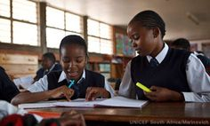 The South African education system was ravaged by apartheid. Today its legacy is seen in the mass of impoverished and run-down rural and townships schools that cater to the majority of African children. Opportunities for better education are limited to a number of well-resourced former white state schools. Low exam pass rates, school dropout, violence and sexual abuse in schools as well as teenage pregnancy and HIV infection are tragic consequences of the deep inequalities in school…