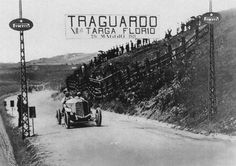 1921 targa florio max sailer (mercedes 28 95) 2nd 2