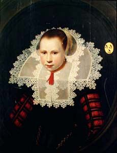 Portrait of a Woman of the de Looper Family, Jan Daemen Cool (1589-1660) ?