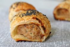 For a healthier option, these chicken and vegetable sausage rolls are absolutely delicious! Make a big batch and pop any leftovers in the freezer!
