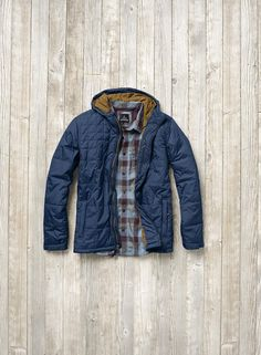 The Redmond Jacket and Huntley Flannel. Stay warm, dry, and layered this season. Head to prAna.com for high-performance outdoorsy fashion that's rugged and eco friendly.