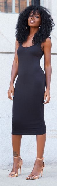 {Grow Lust Worthy Hair FASTER Naturally}>>> www.HairTriggerr.com <<<      Bodycon LBD!!! Yess!
