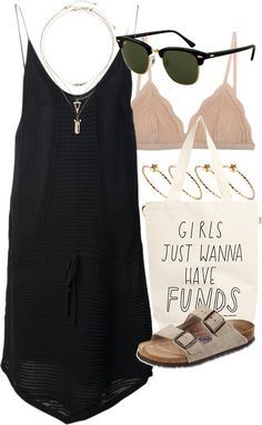 outfit with Birkenstocks