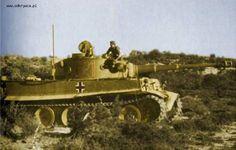 D.A.K Panzer VI Tiger from the Schwere Panzerabteilung 501 in Tunis