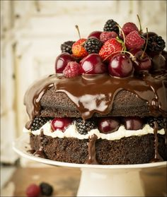 Heavenly Chocolate and Berry Cakes!