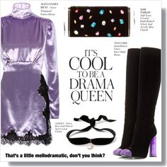 How To Wear DRAMA QUEEN Outfit Idea 2017 - Fashion Trends Ready To Wear For Plus Size, Curvy Women Over 20, 30, 40, 50
