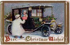 vintage christmas postcards - Google 検索