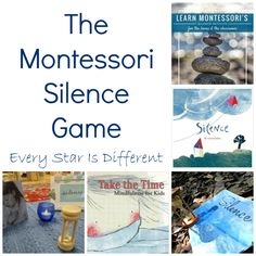 The Montessori Silence Game: Resources to use at home, school and outdoors with recommended silence themed book list. Montessori Art, Montessori Toddler, Mindfulness For Kids, Mindfulness Activities, Nursery Activities, Toddler Activities, Fun Learning, Teaching Kids, Practical Life