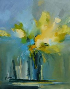 Fragrances by Malahicha on deviantART Paintings I Love, Beautiful Paintings, Art Floral, Abstract Canvas Art, Art Abstrait, Abstract Flowers, Painting Inspiration, Flower Art, Watercolor Art