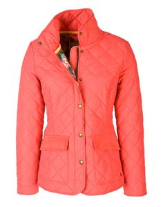 Coral hunting jacket with floral lining! KILLER!