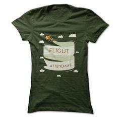 Flight Attendant II T Shirts, Hoodies. Check price ==► https://www.sunfrog.com/LifeStyle/Flight-Attendant-II-Forest-29202583-Ladies.html?41382 $21.99