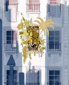 Pascal Campion — A Little Spot of Sunshine, 2017 Art Inspo, Kunst Inspo, Art And Illustration, Image Deco, Pascal Campion, Art Mignon, Aesthetic Art, Cute Art, Amazing Art