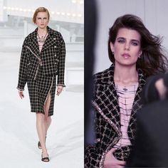 Charlotte Casiraghi, Monaco, 21st, Chanel, Blazer, December, How To Wear, Jackets, Instagram