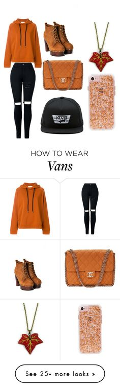 """set 21"" by living-in-my-own-little-world on Polyvore featuring 8PM, Nasty Gal, Chanel and Vans"