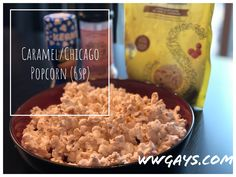 You all know how much we love popcorn! Jean-Luc loves this variation. Chicago Style Popcorn, White Cheddar Popcorn, Popcorn Seasoning, Pop Popcorn, Weight Watchers Meals, Brown Sugar, Warriors, Healthy Snacks, Caramel