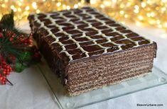 Pin on sweet Romanian Desserts, Romanian Food, Romanian Recipes, Chocolate Recipes, Chocolate Cake, Pastry Cake, Ice Cream Recipes, Something Sweet, Sweet Treats