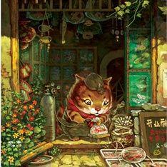 Xue Wawa illustration Portfolio