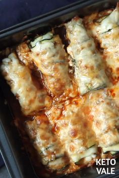 Gluten free · Serves Chicken Enchiladas - Low Carb and Keto Friendly Ketogenic Recipes, Low Carb Recipes, Cooking Recipes, Healthy Recipes, Ketogenic Diet, Slow Cooking, Keto Crockpot Recipes, Cooking Videos, Cooking Oil