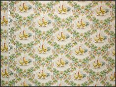 Rooster Chicken Toile Fabric | Brickhouse Fabrics