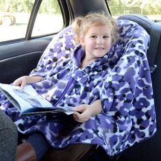 My No Sew Car Seat Poncho Tutorial Car Seat Safety