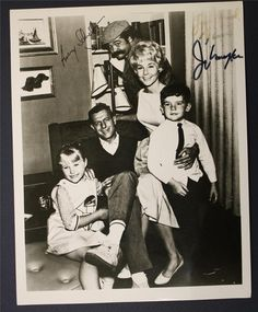 My Mother the Car photo signed by both Jerry Van Dyke & Avery Schreiber - 1960's.
