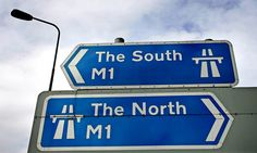 A sign at Junction 26 of the M1 motorway.
