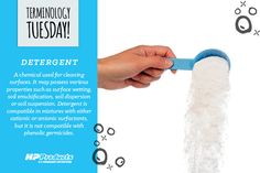 Everyone should be familiar with this #TerminologyTuesday! #detergent