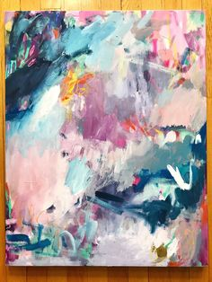 """""""Mad About You"""" 22x28"""" Original Painting on Canvas – Amira Rahim Art"""