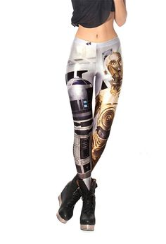 Amoluv Women's Fashion Sexy Digital Print Pattern Stretch Leggings -- Check out this great image  : Plus size leggings