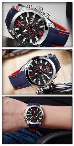 the Megir 2063G luxury sport - Men's luxury fashion sport watch chronograph timepieces accessories for you! #sportwatch #menswatch