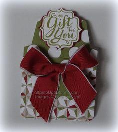 Gift Card Holder - supply list at StampUpaStorm.com