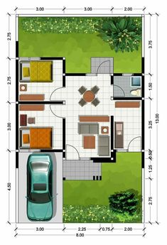 Home bar plans layout Ideas 2 Bedroom House Plans, Duplex House Plans, Small House Plans, Home Bar Plans, Home Design Plans, Minimalis House Design, Model House Plan, Architectural House Plans, Compact House