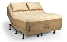 Temperpedic Grand Bed mattress on Advanced Ergo adjustable - I So want one of these!
