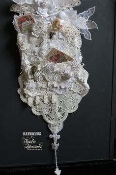 Altered wall hanging