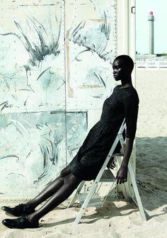 Model: Ataui Deng | Photographer: Julia Noni
