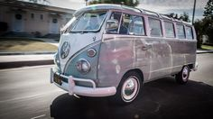 One of Jay's favorite comedians brings by his beloved VW bus, a pristine version of his very first car.