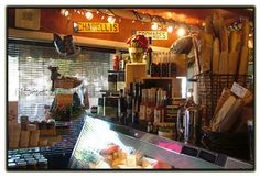 """Charelli's Cheese Shop and Delicatessen - as their website says, Charelli's """"goal is to achieve a level of quality and uniqueness that simply cannot be found in a supermarket"""". So much yum in one location."""