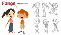 "Gurihiru Illustration Blog (JPN): children's book ""FANGS"""